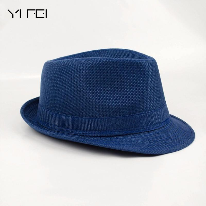 2018 Brand New Fashion Floppy Jazz Hat Pure Men Women's Large Brim Caps England Classic Style Formal Hat Vintage Popular Caps D19011103