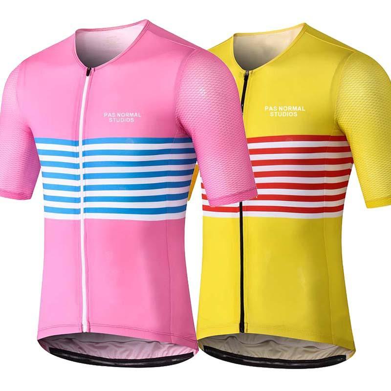 RUNCHITA 2019 Pro vêtements maillot de vélo équipe cycliste à manches courtes Ropa ciclism Les vêtements de vêtements de vélo mens court Maillot Culotte