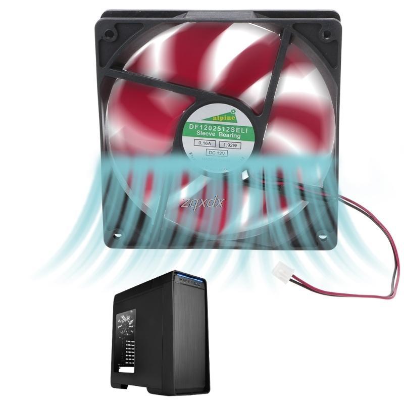 I fan ventola di raffreddamento 12025 120 millimetri DC12V 0.2A 2 pin del connettore ventola di raffreddamento per la nave Box Computer CPU Cooler Radiatore Goccia
