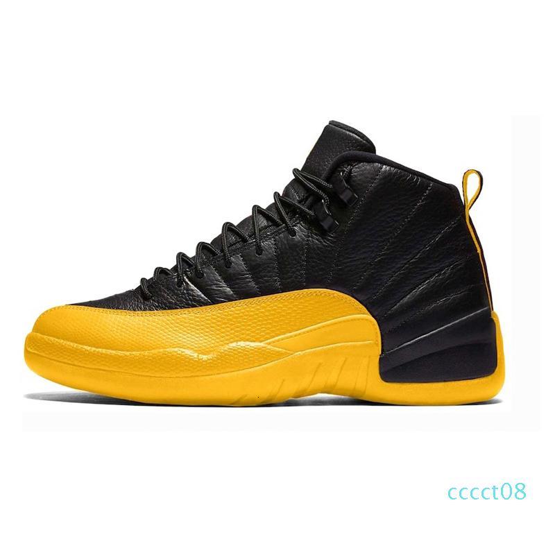 Top 12 FIBA Mens Basketball 12s Shoes Designer homens Gym vermelho Jogo Real Universidade Ouro escuro cinza quente Soco Esporte Formador Sapatilha cct8