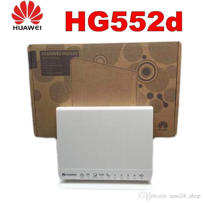 Новый в коробке разблокирована Huawei HG552d ADSL2 + модем / маршрутизатор