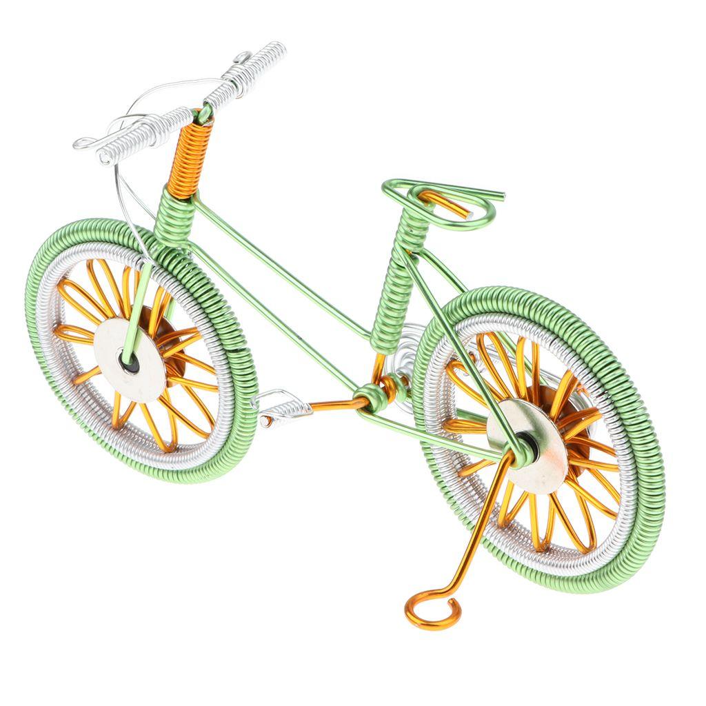 Grün Dekorative Berg Fahrrad-Modell Schreibtisch Dekor 6.7''L X 2.2''W X 4.1''H