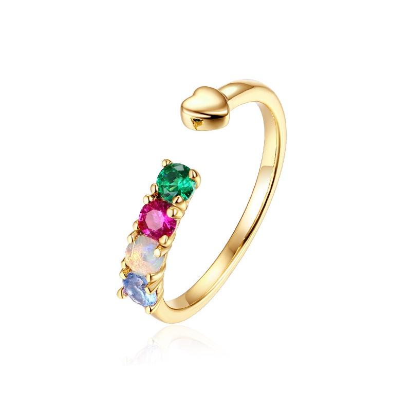 2020 Love Such As Jewellery Natural Opal Stone Ring Is Beautiful Female 9 K Gold Ring Amazon Hot Style From Shemei 23 04 Dhgate Com