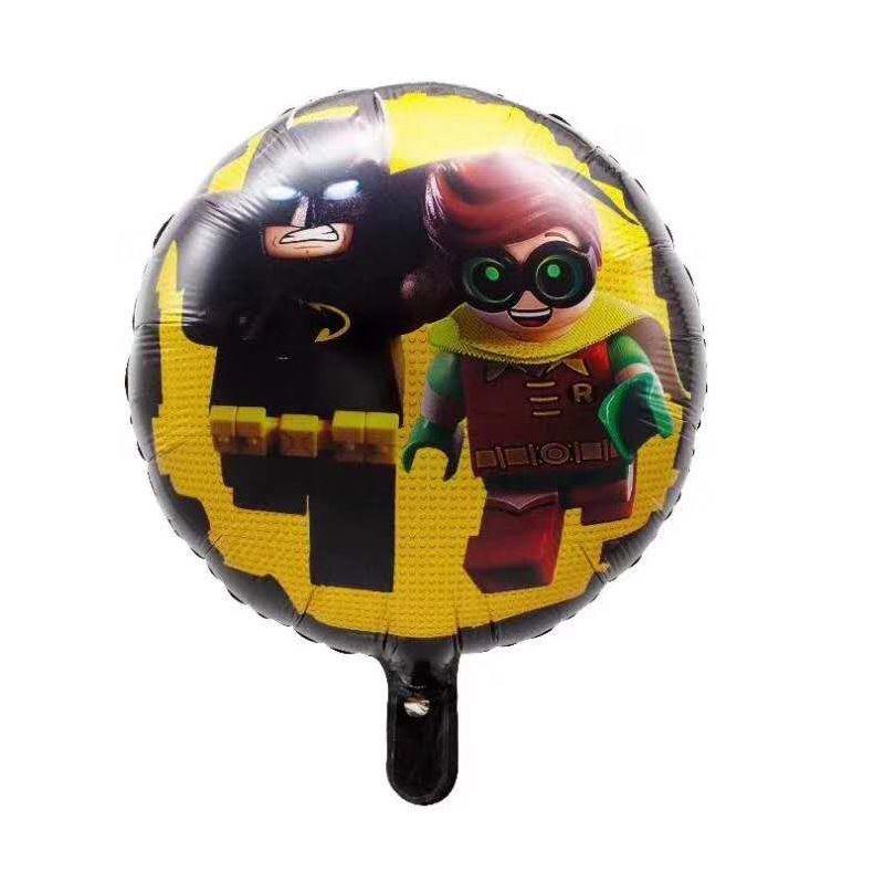 Compre Dibujos Animados Batman Globos Metálicos Roblox Airballoon Niños Fiesta De Cumpleaños Decoración Globo Bloques Juego Niños Juguetes Venta - batman y roblox