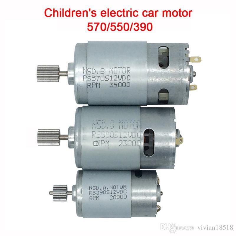 Children's toy electric car motor,12V DC motor 550 390 for kids ride on car,motor for kid's electric vehicle 570 35000rpm engine