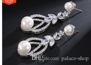chaming 크리스탈 다이아몬드 보석 돌 진주 숙녀의 earings (27.23) ftdfd