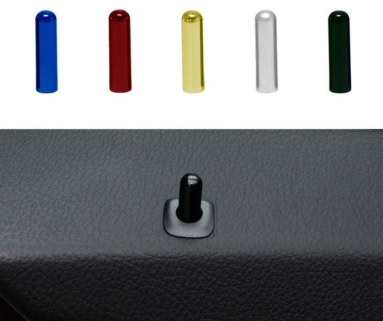Автомобильные двери защелка подъемник дверной штифт блестки украшения открытый замок крышка болт для для 5 серии E87 E90 E70 E71 F35 F18 F02 F25