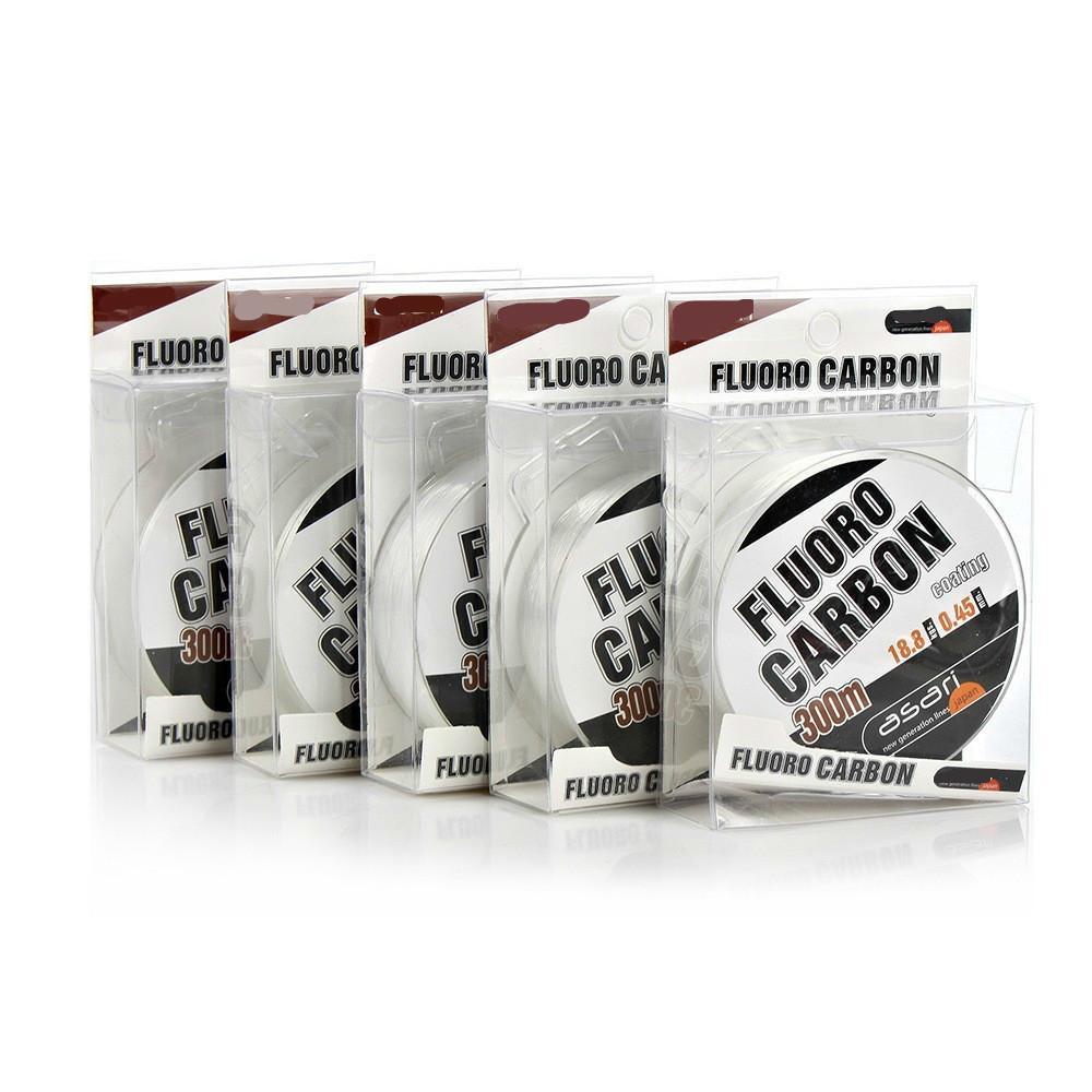 Fluorocarbon Fishing Line 300m Monofilament Nylon Fluro Carbon Coating Quality