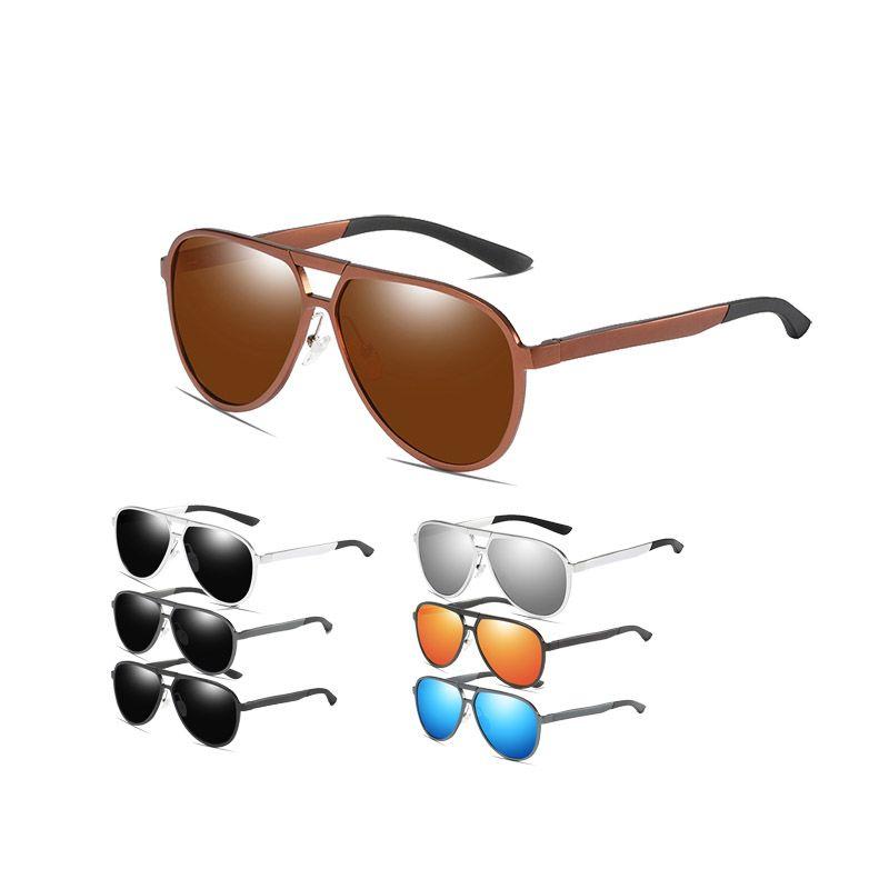 Männliche Sonnenbrille Polarisierte Design Männer Retro Marke Goggle Shades Spiegel Gläser Sommer Männer Für Sun Fahren UV400 Oculos HDIUS