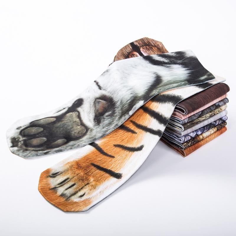 7.87 inch 8 Pairs for Girls and Boys Animal Paw Socks 3D Print Animal Hoof  Sock 20cm ,I Socks & Tights Casual & Dress Socks
