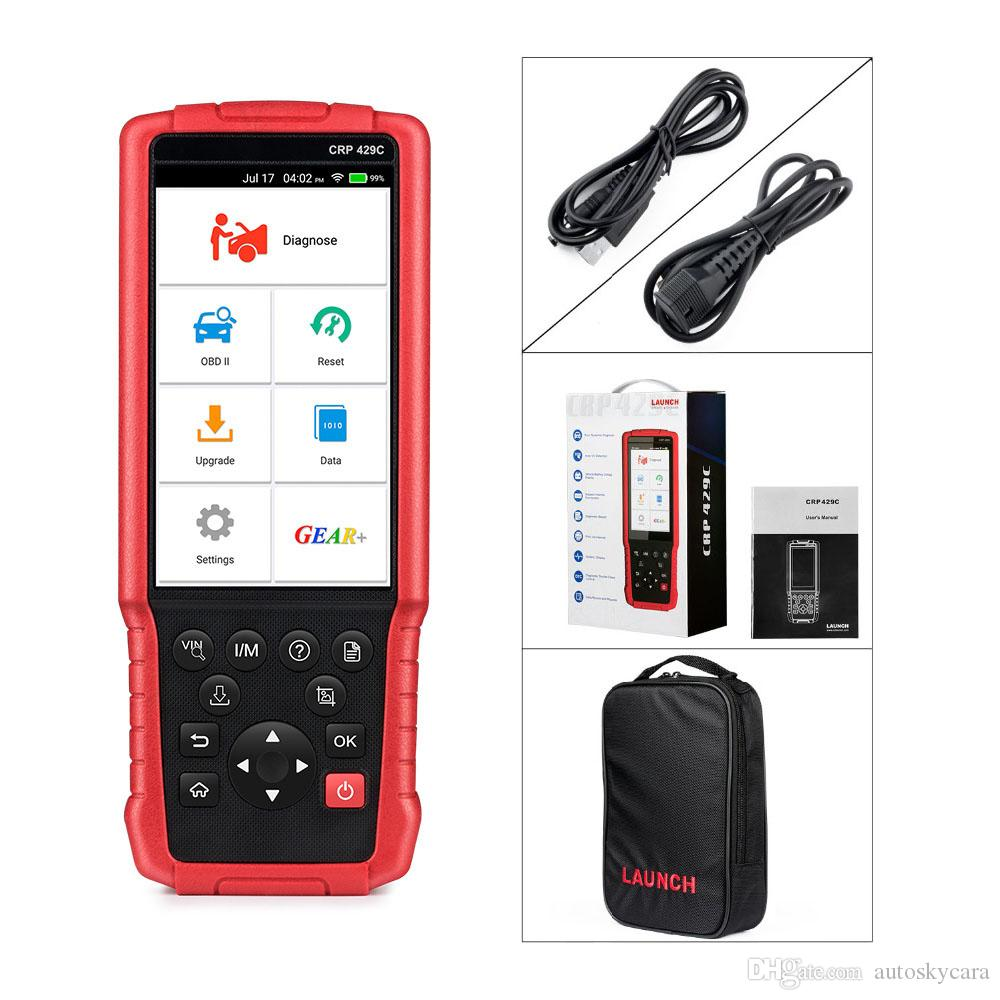 LAUNCH X431 CRP429C Auto Diagnostic tool for Engine/ABS/SRS/AT+11 Service OBD2 obdii code reader Scanner Better than CRP129