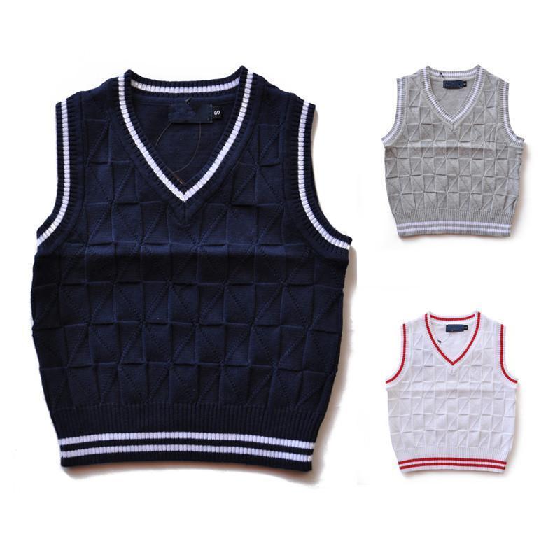 la manera nuevo suéter de la ropa de primavera / otoño / invierno los niños y niñas de los niños de la marca capa del polo de los niños de alta calidad suéter S - XXL