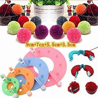 Popular 3 Sizes Pompom Maker Plush Fluff Ball Wool Weaver Knitting Craft DIY