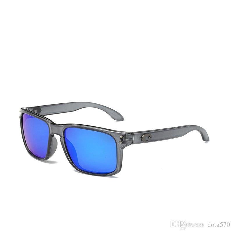 Moda Hot alta qualidade marca Designer Eyewear Sunglasses Casual óculos de proteção exterior Desporto Ciclismo Conduzir Sun Glasses ultravioleta