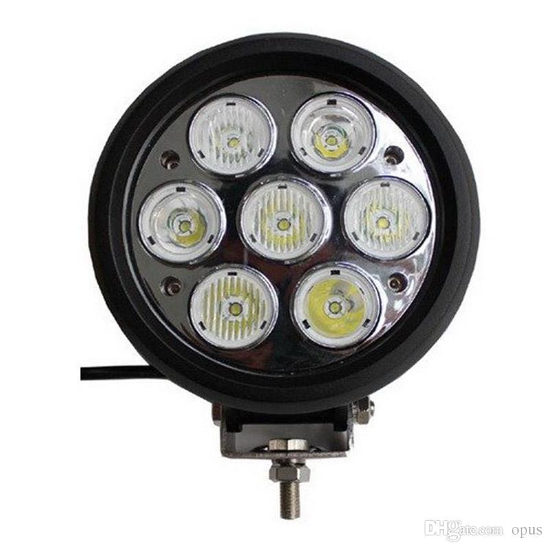 Auto luce luce 8pcs DC10-30V 70W Cree LED del lavoro della luce di nebbia di guida per il motociclo carrello elevatore Offroad crogiolo di camion