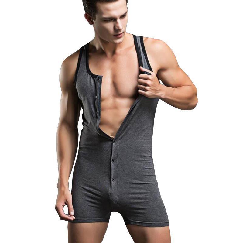 Zayıflama Faya hombre bodysuit şekillendirici pamuklu erkek iç çamaşırı camisa masculina vücudu saran giysiler seksi eklem giyim pijama shapewear