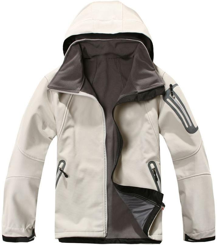 Nuovo Inverno Mens Softshell in pile Felpe Giacche Apex Bionic Mens neve sciare giù caldi Abiti faccia giacche outdoor antivento Cappotti