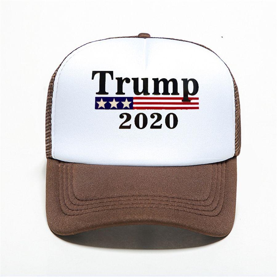 Cap Bandeira Trump chapéu dos EUA Boné de beisebol ajustável Hat Verão Unissex Mulheres Homens Casual Baseball Caps Snapback chapéus de basebol # 459