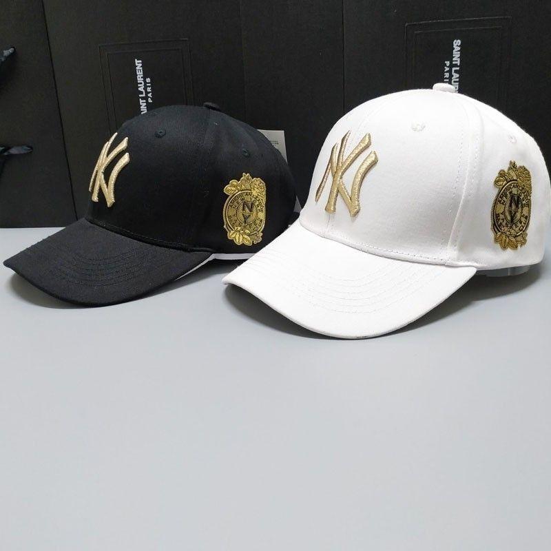 Unisex beyzbol şapkası yeni Yankees erkekler ve kadınlar güneş şapka çift güneşlik LA hip hop bahar ve yaz