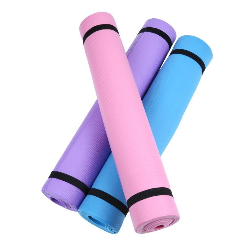 2020 Yoga Mat Marca New Grosso antiderrapante respirar elástica durável exercício gym 4 mm de espessura espuma de EVA para Yoga Mats