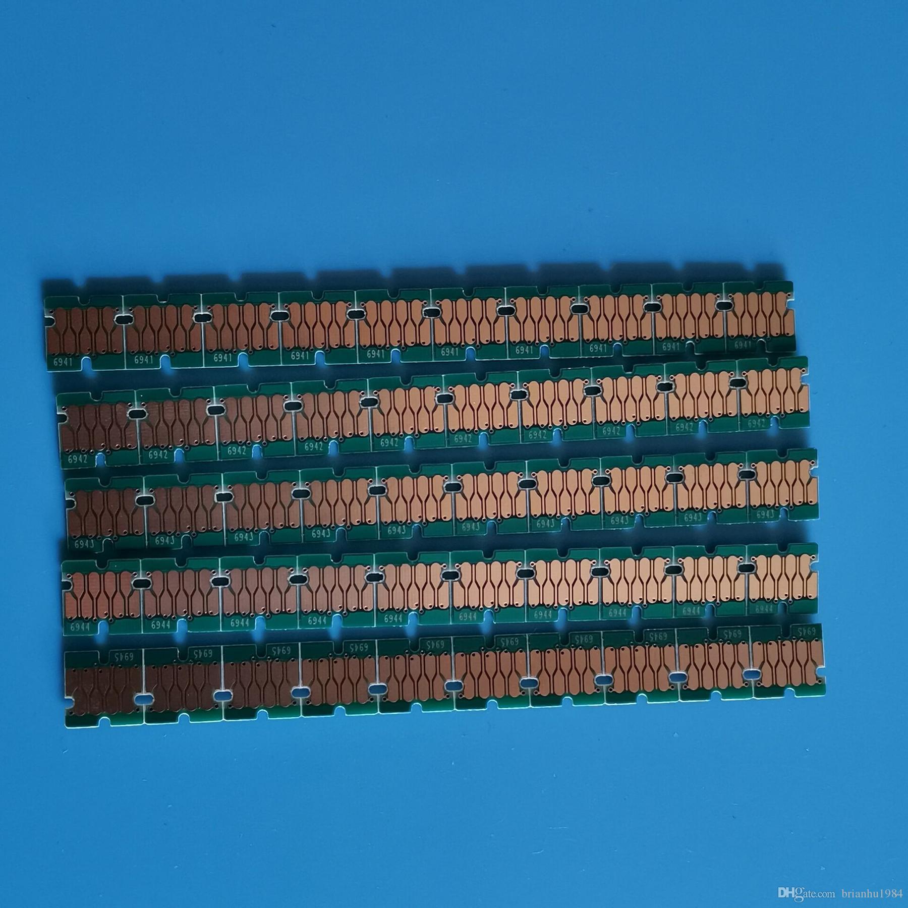 el más nuevo T6941-T6945 una vez uso chip para cartucho de tinta Epson SureColor T3270 T5270 T7270 impresora