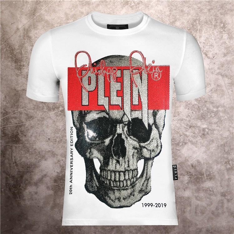 Hip Hop Fashion Cool 3D Skulls Print Men T Shirt 100%Cotton Tide Medusa Casual Slim Fit Short Sleeve Tops Tees Gym Man T-Shirts#008
