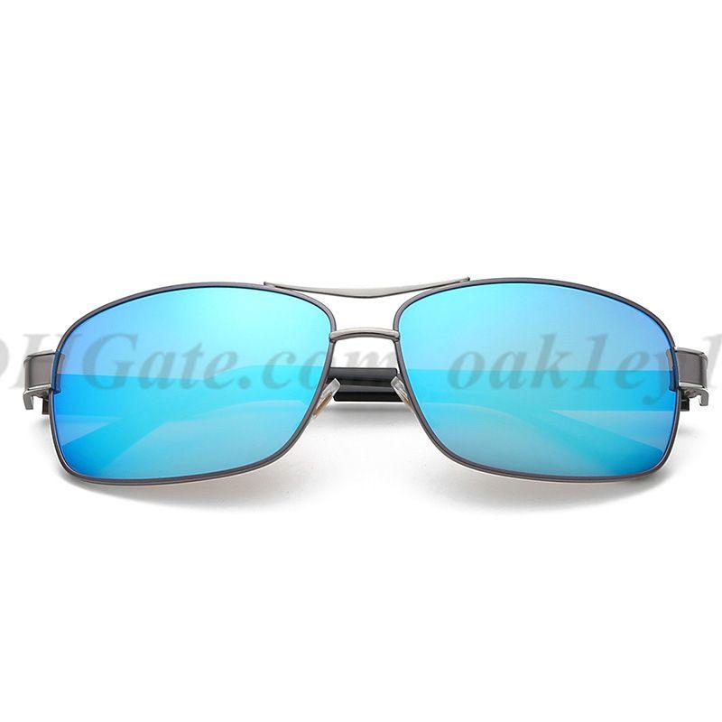 New 553 Metal Sunglasses Men And Women Designer Sun Glasses UV400 Men Brand Square Sunglasses With Free Case And Box