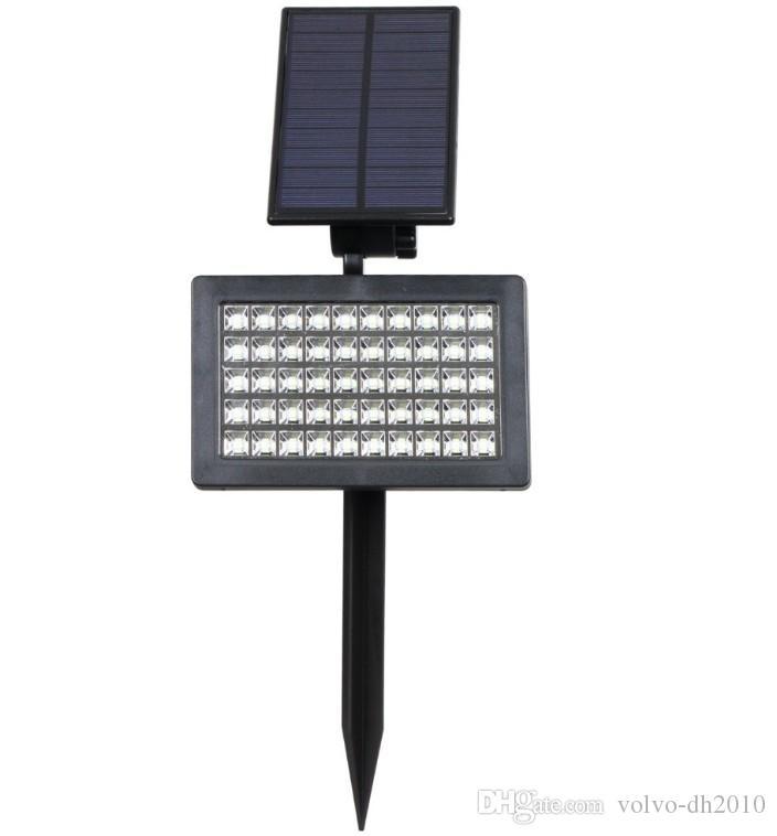 태양 램프 야외 조명 50 주도 IP44 방수 등 정원 LLFA에 대 한 조절