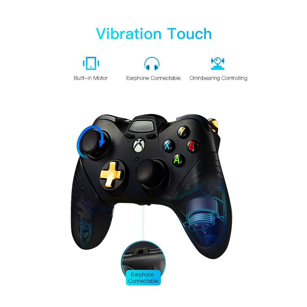 Soundfox Wire Gamepad Игровой контроллер Джойстик для XBOX ONE и ПК Проводной контроллер Геймпад с двумя вибрационными игровыми контроллерами Joypad