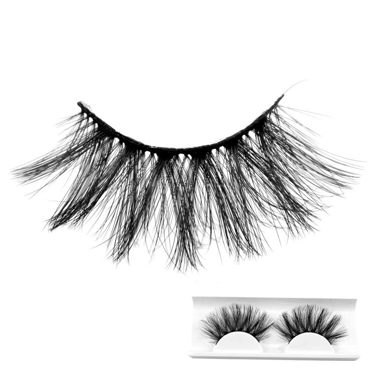 25mm eyelashes for dramatic make up 3D Synthetic lashes with Black cotton 1pair in 1box Top Quality 3D False Eyelash