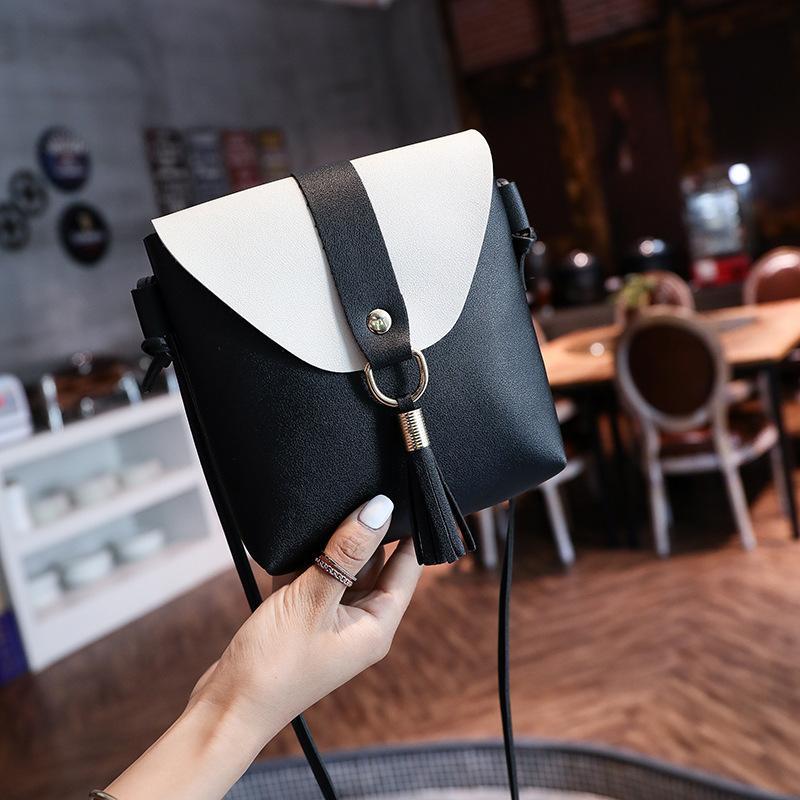 2020 Женская мода кисточкой Сумка женская PU кожи плеча Satchel сумки ремень закрылков сумки 2-251