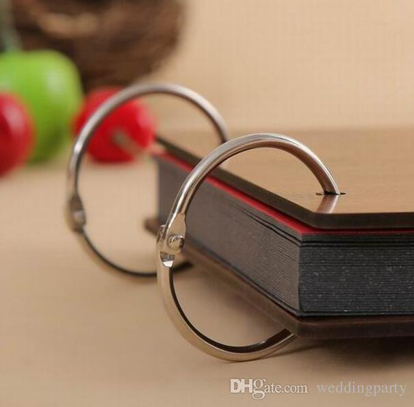 10 Klappringe Metallbinder Craft Split Scharnier für Scrapbooking Album