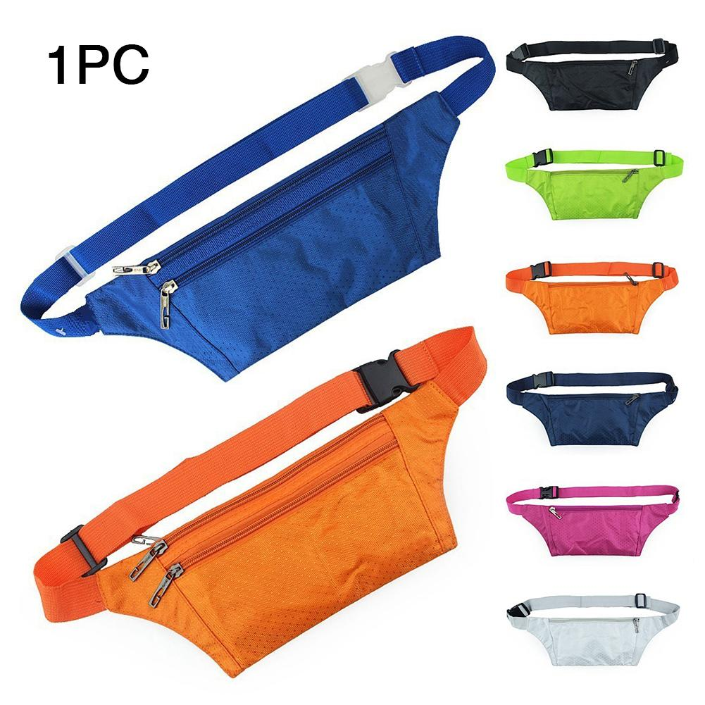 Document Protective Wallet Kayaking Waist Bag Outdoor Practical Passport Hiking Gym Waterproof Pouch Polyester Adjustable Strap