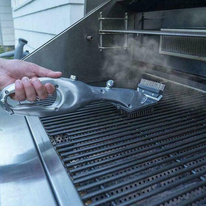 الشواء الشواية الأب البخار تنظيف فرشاة شواء شواء للفحم النظيف مع البخار أو الغاز اكسسوارات BBQ أدوات الطبخ