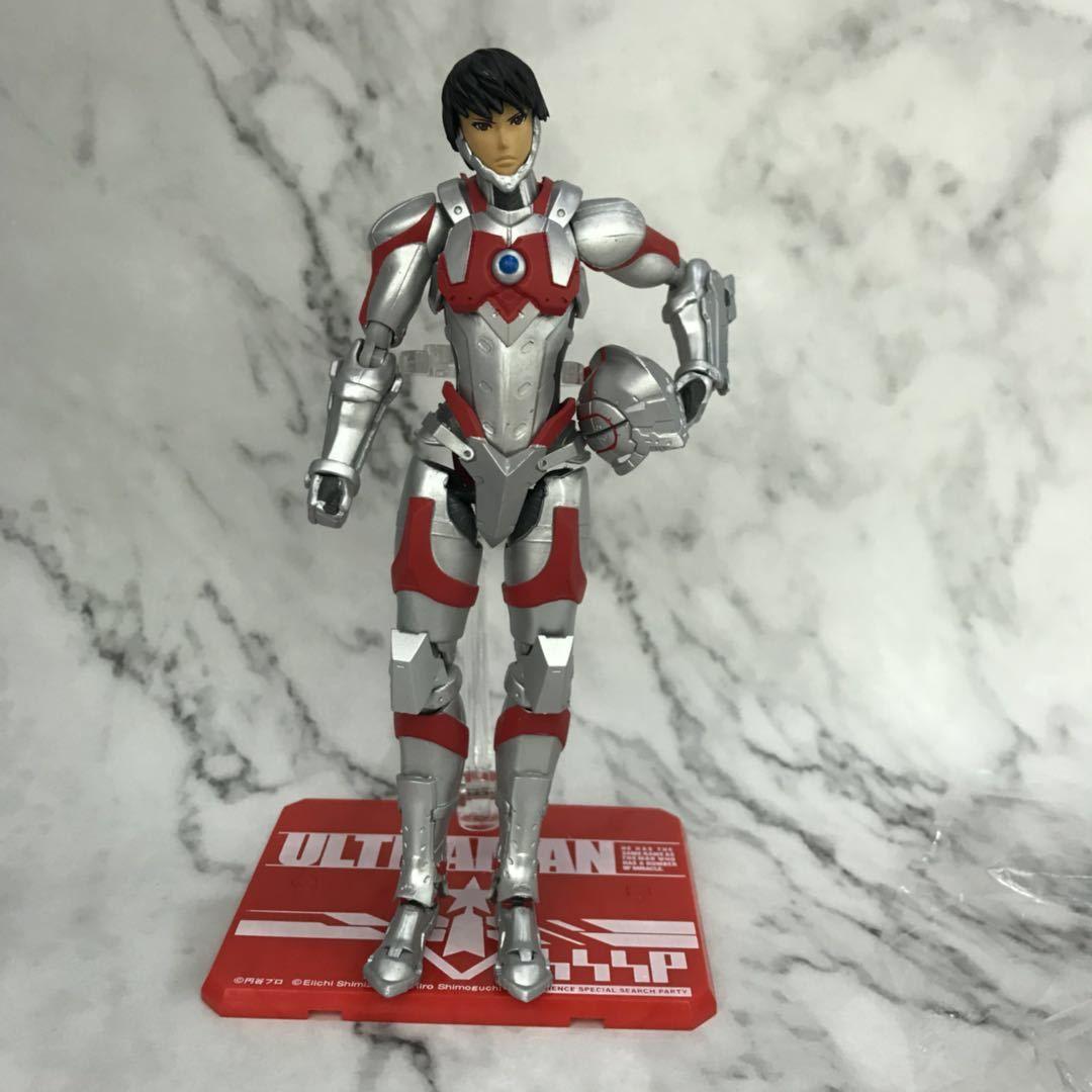 Ultraman SHF Hayata Shinjiro Animationsfigur Spielzeug 17CM