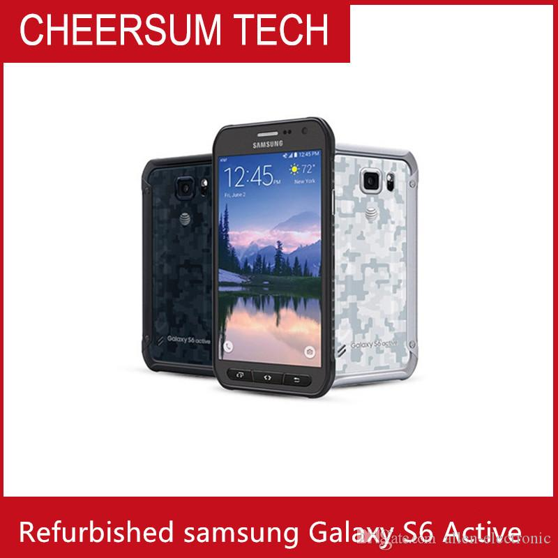 Refurbished Unlocked Samsung Galaxy S6 Active G890A 5.1 inch Octa Core 3GB RAM 32GB ROM 16MP Camera 4G LTE Mobile Phone