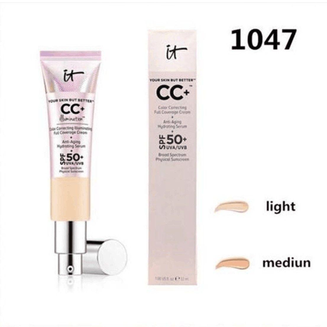 Новые горячие макияж It Косметика Ваша кожа, но лучше Light Medium 2 Цвет перламутровый Солнцезащитный 32 мл CC крем водонепроницаемый долговечные BB