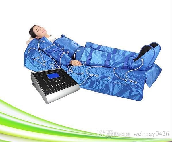 3 в 1 части инфракрасной области компрессионной терапии спа салон воздуха для ног массажеры лимфатический массаж машины