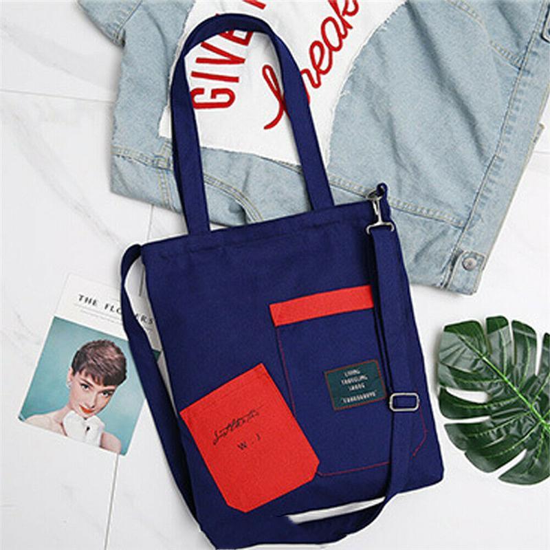 CrossBody Bag for Women High Quality Canvas Shoulder Bag Cross body Tote Handbag Top Handle Bags Zipper Large Capacity Bags