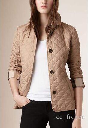 Tops Primavera Autunno Inverno Plaid diamante Giacche superiore Monopetto manica lunga casuale classico cappotti Sport Outwear Slim Blazer
