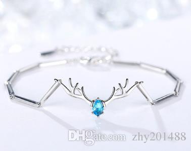 S925 argent bracelet en argent sterling femme bracelet simple cadeau Mori miel bijoux anniversaire de mode