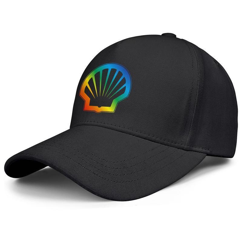 la gasolina de Shell del orgullo gay del arco iris logotipo de los hombres de las mujeres ajustable de la bola de algodón tapas de gasolina sombrero del golf gasolinera oro Armada Ejército de camuflaje