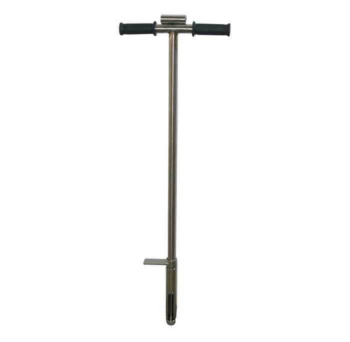 """Superior-Qualität 40 """"Bodensonde-Sampler mit Probenauswerfer 304 Edelstahl-Gator-Sondenstufen-Tube-Fußpedal"""