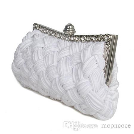 Umhängetasche Shell Frauen Messenger Bags Abend 2019 Mode Handtaschen Damen Casual Tote Clutch Weave New