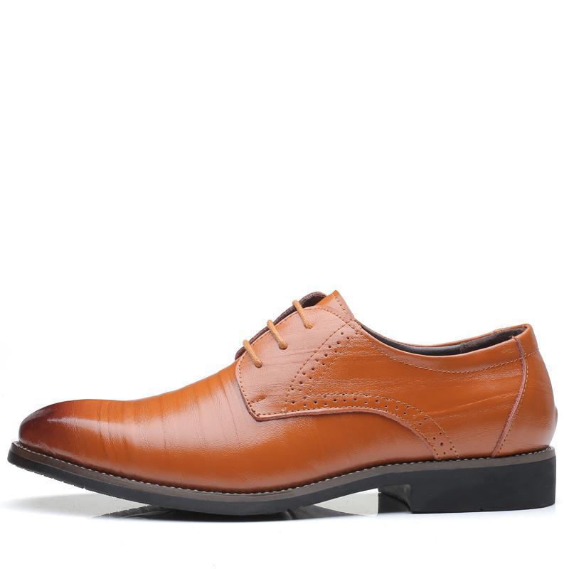 Hot Sale-es Mode cuir formel marié chaussures de mariage Hommes Oxford S