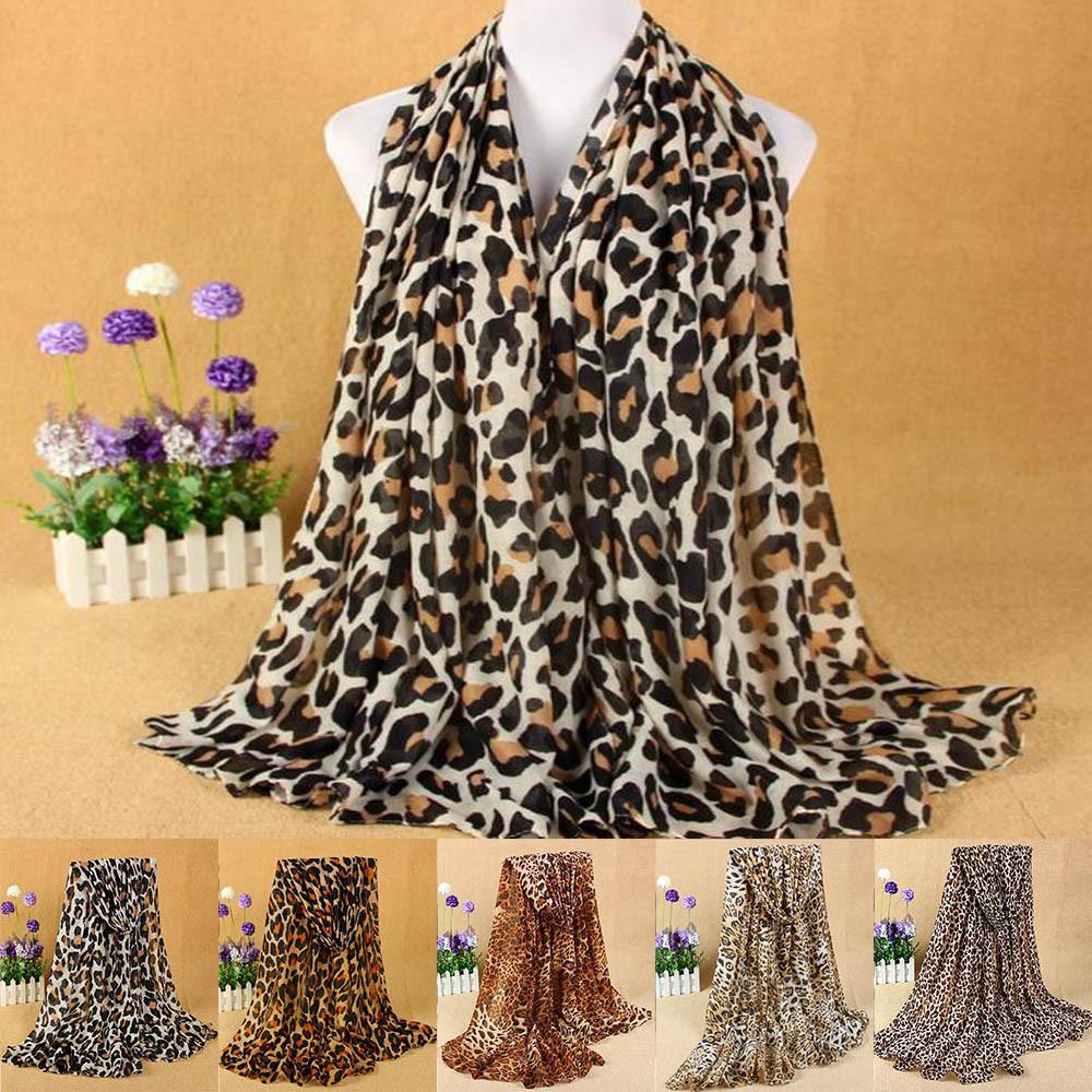 New Print Retro Head Neck Silk Satin Scarf Square Thin Shawls Women's Classic Leopard Scarf Cotton And Linen Fashion Wild #30