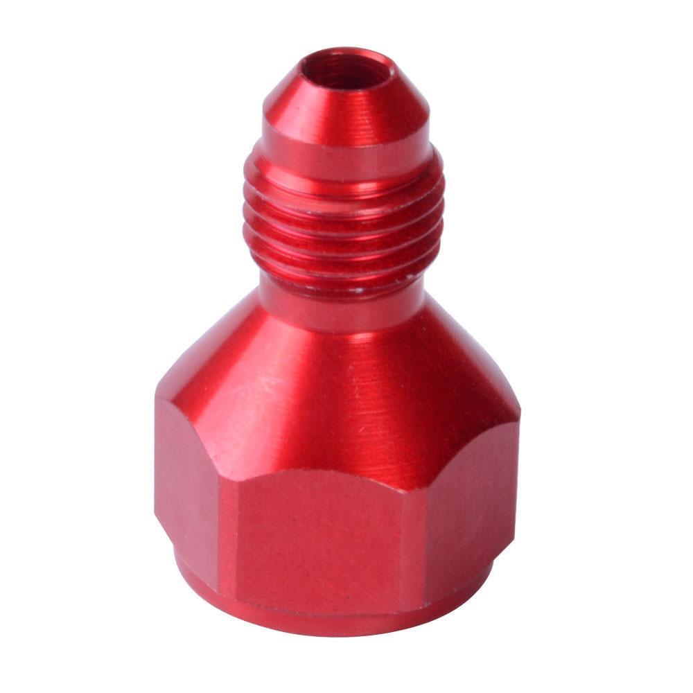 Tratamiento de suministro de combustible barato AN8 hembra a AN6 MACHO REDUCTOR EXPANSORA MANGUERA ADAPTADOR ROJO / NEGRO / COLOR AZUL