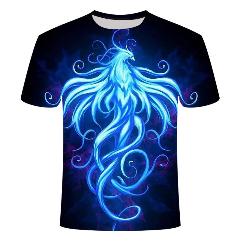 Mens del estilo del nuevo verano de la camiseta de la galaxia del espacio psicodélico colorido floral de impresión en 3D de las mujeres / camiseta de los hombres Hip Hop Tees tapas ocasionales