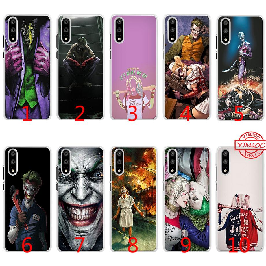 Joker And Harley Quinn Soft Silicone Phone Case For Huawei P10 ...