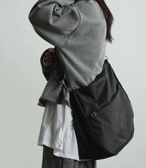 Мода сумка женской сумки нейлон одно плеча большое милый креста тело милого черные торговые путешествия g966